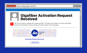 Phishing Scam Beware Of Jiofiber E Mail It May Be A Phishing Scam