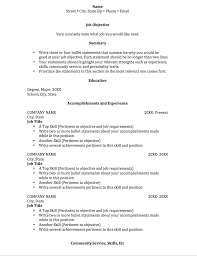 Objective For Social Work Resume Social Work Resume Outline Objective For Internship Medical 19