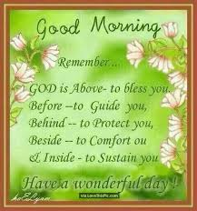 Blessed Morning Quotes Cool Good Morning Remember God Is Above Is In The Blessing Business Have
