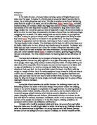 lord of the flies essay importance of ralph gcse english analysis of lord of the flies