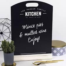 Chalkboard For Kitchen Personalised Kitchen Chalkboard By Delightful Living