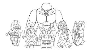 Small Picture 25 Spectacular Lego Avengers Coloring Pages Gekimoe 58481