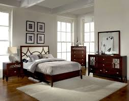 White And Walnut Bedroom Furniture Mirrored Glass Bedroom Furniture Rectangle Shape Wooden Mirrored