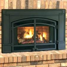 fireplace glass doors open or closed burning wood burnin how to