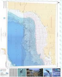 Gulf Coast Nautical Charts Bathymetric Nautical Chart Br 7pt1_2 Western Gulf Of Mexico Pt 1 And Pt 2