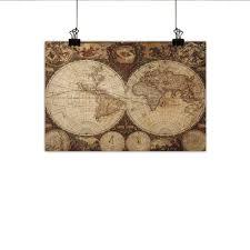 Modern Old World Design Amazon Com Littletonhome World Map Modern Oil Paintings Old