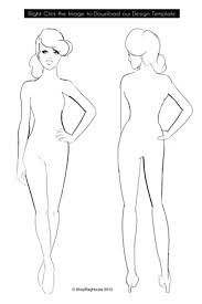 Body Template For Designing Clothes But What If I Cant Draw Birds Drawings Templates Design