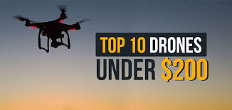 Holy Stone Drone Comparison Chart 10 Best Drones Under 200 Holidays 2019 Comparison Table