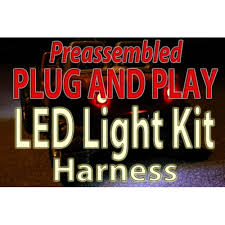eastcoast powerup power wheels performance parts plug and play led light kit harness