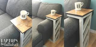 Laptops To Lullabies Easy Diy Sofa Tables Table Exceptional Picture