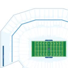 San Francisco 49ers Seating Chart 3d Levis Stadium Interactive Football Seating Chart