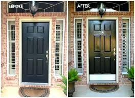 spray paint front door paint metal front door to look like wood spray paint metal entry