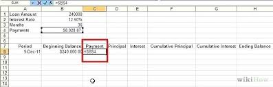 How To Build An Amortization Schedule Excel Amortization Schedule Template Date Countdown Formula Loan Set