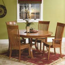 Amishcrafted Transitional Dining - Amish oak dining room furniture