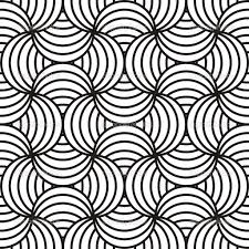 Abstract Black & White Design  Stock Vector  Dustbinman Black And White  Designs Patterns Black And White Designs For Babies