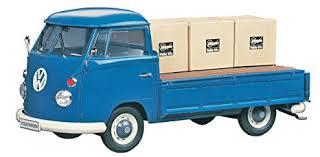 Amazon.com: Hasegawa HMCC11 1:24 Scale VW Type 2 Pick-Up Truck Model ...