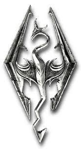 Logo skyrim png 7 » PNG Image