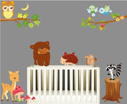 childrens wall art animals
