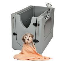 outdoor pet spa home mobile dog washing grooming bath wash tub indoor portable