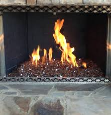 fireplace glass rocks fire comparing lava and for pits