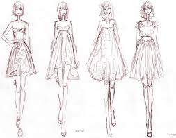 drawings fashion designs sketches 01 by aiciel deviantart com digital illustration