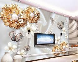 Beibehang Hoge Mode Decoratie Zijden Doek Behang Goud Sieraden