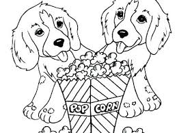 Puppy Dog Coloring Pages Free Printable Pals Biscuit The Dogs And L