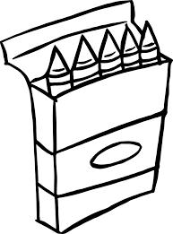 Crayon box coloring page crayon box coloring page ford ford short box at