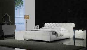Model G1031  Designer White Bed by Gainsville Furniture Melbourne