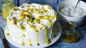 Angel Food Cake With Lemon Curd Recipe Bbc Food