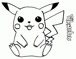 staggering cute pikachu coloring pages kids prepossessing wagashiya