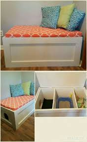 cat litter box furniture diy. Table Nice Out Of Sight Litter Box Furniture Cat Diy