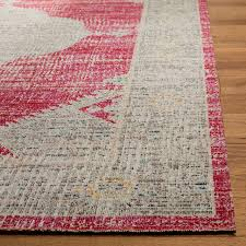 safavieh montage mtg373p vintage distressed rug rose gray 9 0