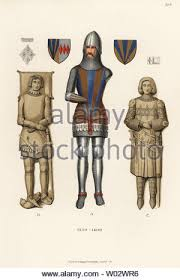 Sir Guy de Bryan, Baron Bryan, died 1391. In suit of armour with ...