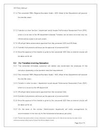Policy And Procedure Manual Template Luxury Human Resource Of ...