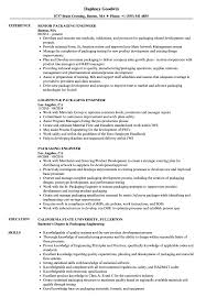 Resume For Packaging Job Packaging Engineer Resume Samples Velvet Jobs 65