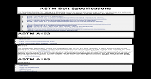 Astm Bolt Nuts Pdf Document