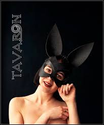 black leather rabbit mask leather bunny mask leather mask mask toy petplay mask mask party mask bunny ears
