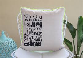 Small Picture NZ Maori Design Cushion Cover 45cm x45cm Home Decor madeit