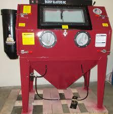 Abrasive Blasting Cabinet Sandblasting Cabinet Bb 1050xld Fl Badboy Blasters