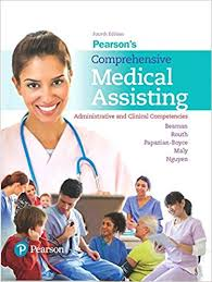 Pearsons Comprehensive Medical Assisting Administrative