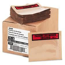 3m Self Adhesive Packing List Envelope Pklist Inv Wdw Each Model T11000