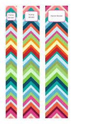 Binder And Spine Bold Chevron Binder Spines Technology Pinterest Classroom