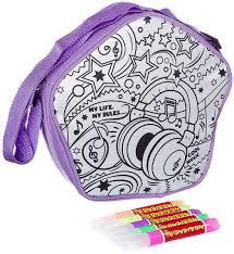 bondibon раскраска с 3d красками сумочка тукан