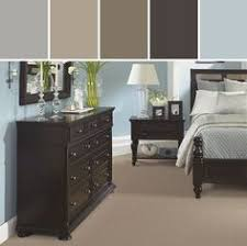 wall colors for black furniture. pastel blue u0026 espresso u2013 in with the new carpet bedroom designed by shaw floors via wall colors for black furniture