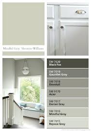 mindful gray neutral paint color kitchen grey walls