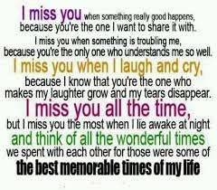 "Missing Person Words Classy 44 Poignant Quotes To Tell Someone ""I Miss You"""