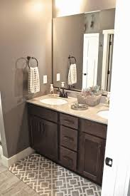 Surprising Bathroom Color Ideas With Grey Tile Paint White Cabinets