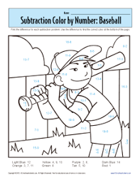 Small Picture 1st Grade Addition And Subtraction Worksheets Subtraction Color