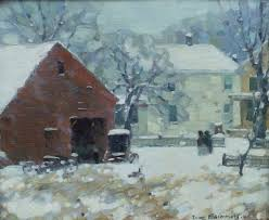 "Winter in Woodstock"" Ivan Summers 